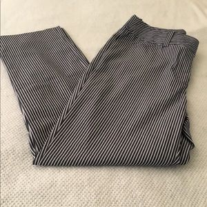 Jones New York stretched striped pants- Size 4